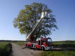 DLK 18/12 der Feuerwehr Otterberg