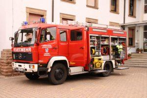 TLF 16/25 der Feuerwehr Niederkirchen
